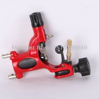 alloy machine works - New Red Alloy Tattoo Machine for S10 Wrap Coils hader and Liner Works
