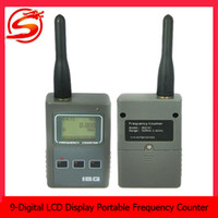 counter display - 8 Digit LCD Display Portable Mini Frequency Counter RF Signal Strength Indicating Spy Camera Detectors SPY_200