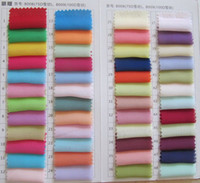 Wholesale 2016 Chiffon Color Fabric Swatches A sample of the fabric for Choice of Bridesmaid Dress Evening Dress Real Image