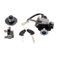 ignition coil - GOOFIT Motorcycle key Ignition Switch for cc cc Scooter motorcycle ignition accessory H054 order lt no track