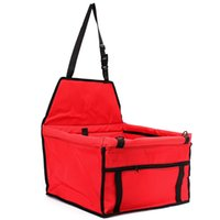 Wholesale Hot Travel Portable Foldable Pet Carriers Storage Bag Waterproof Safety Front Back Seat Dog Cat Car Hammock Carrier Basket New