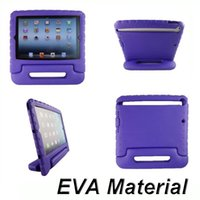 Wholesale Foam Case Kids Safe Rugged Proof Thick Handle Stand case For iPad iPad air iPad Mini With OPP Bag