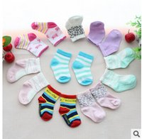 Wholesale baby socks for boys girls promotion cotton socks newborn baby socks infant kids socks multi colors