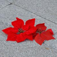 artificial xmas wreaths - 2015 new Xmas Ornament Glitter Artificial Wedding Christmas Flowers XMAS Tree Wreaths Decor Ornament