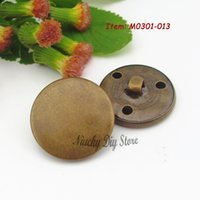 antique sewing supplies - Bronze buttons mixed mm and mm military antique copper buttons for coat jeacket sewing supply