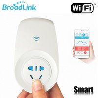 Wholesale Broadlink SP2 Smart Home Wireless Remote Control Electrical Smart Plugs Sockets By app controle switch free Adapter