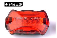 ru - RU Bicycle Cycling Tail Light Bike Safety Back Rear Flash Led Red Light Lamp