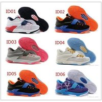 Cheap 2015 New Arrival 6 famous kinds of Air Kevin Durant KD 7 Men Sport Sneakers Low Abrasion Hornors Basketball Shoes Sneakers