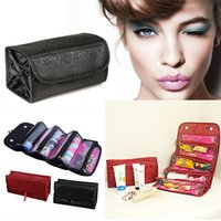 Wholesale Women Travel Cosmetic Bag Organizer Makeup Case Pouch Toiletry Make Up Bag EA