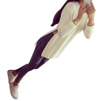 womens jumpers - Long Grey Women Sweater Pulls Femme Jumper Long Pullover Knitted White Winter Warm High Slit Womens Winter Jumpers Women