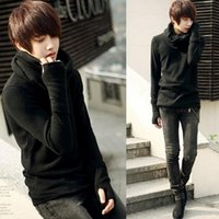 Wholesale Presented Scarf Popular Men Pullovers Korean Style Men s Sweaters Winter and Autumn Men W0043