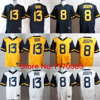 west virginia - Factory Outlet West Virginia Mountaineers WVU Jerseys Karl Joseph jersey Andrew Buie Stitched American College Football Jerseys