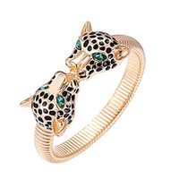Wholesale Women Panther Bracelet Animal Statement bangel Girl New Fashion High Quality Jewelry for
