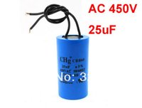 ac capacitor wiring - uF CBB60 Tolerance Double Wired Terminal Motor Capacitor AC V Hz