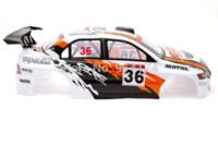 car body shell - 1 rc car parts rc car PVC Body Shell for henglong hsp Drift car mm mm NO S030W white