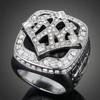 Venta al por mayor del anillo exquisito 2009 campeón del mundo de los Yankees de béisbol profesional de anillos de campeón de Super Bowl
