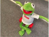 supreme clothing - supreme kermit doll plush toys cm including clothing