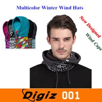 Wholesale High Quanlity Multi function Polar Fleece Hats Winter Ski Cycling Neck Warmer Wind Cap Outdoor Christmas Gift