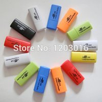 Wholesale 500pcs high quality little dog USB memory TF card reader micro SD card reader DHL FEDEX