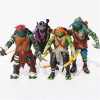 Finished Goods ninja turtles - Teenage Mutant Ninja Turtles TMNT Action Figures PVC Toys Dolls Classic Collection Model