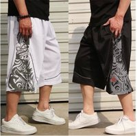 basketball practice - NEW Brand outdoor summer elastic practice sport basketball training running plus size XL XL joggers hip hop shorts for men