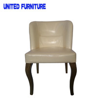 Wholesale Modern Dining Chairs Dining Room Chairs Home Chairs with Tiffany White Pink PU Cover and chromed leg