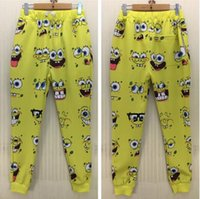 animated bunny - FG1509 bunny Men boy Fashion Casual D joggers pant Animated characters printed cartoon long trousers for men Size S XL