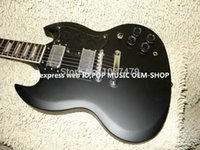 Cheap High Quality Newest Black SG Electric Guitar Wholesale Guitars Top Musical instruments
