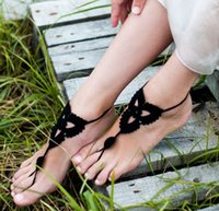 Wholesale 300pairs LJJD3129 Fashion Barefoot Sandals Crochet Ankle Chain Foot Jewelry Anklet Bracelet Ankle Chain Crochet Anklet Bracelet Ankle Chain