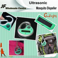 Wholesale Ultrasonic Mosquito Dispeller Outdoor Sports Special Portable Solar Electronic Mosquito Dispeller With Compass With Retail Package