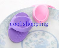 Wholesale DHL Freeshipping Microwave Oven Mitts Kitchen Cooking Convenient Silicone Nonslip Insulated Glove