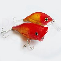 Wholesale Promotion Red Color Crankbait Popper Fishing Wobbler g cm fishing crankbait cm poppers fishing hard fake artificial lure