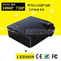 Wholesale Projector Full HD Mini LED Video TV Beamer Projector P for Home Theater Cinema with HDMI AV VGA SD USB Projectors V712
