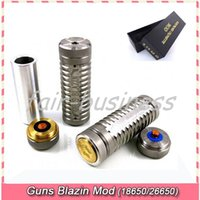 Cheap Guns Blazin Mod Best 18650 Mechanical Mod