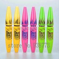best volume black mascara - Best Selling Makeup Mascara Charm Smoky Eyes Colo ssal Volume Express Water proof Black Mascara Colors ml