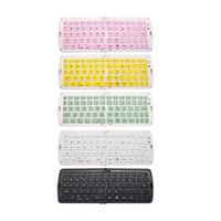 wireless silicone keyboard - Newest arrival Portable Foldable Wireless Silicone Bluetooth Waterproof Keyboard for Apple iPad iPad mini iPad air