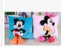 Pink minnie mouse plush - Christmas gift plush Micky mouse Minnie mouse cushion pillow plush toy