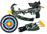 bow and arrow gun - Children bow and arrow toy outdoor sports toys