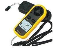 Wholesale Hot sale pieces Digital Beaufort Wind Meter Scale Anemometer Thermometer GM816 order lt no track