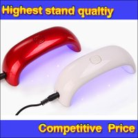 Wholesale High Quality W LED Light Nail Dryer Bridge Shaped Curing Nail Art Lamp Care Machine Piece DHL Free forcity