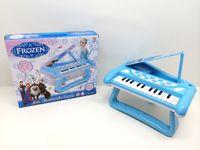 Wholesale 2014 new fashion Frozen Electronic organ Lamplight music children cartoon Small piano with light music HX