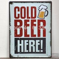Cheap sign bar Best beer tin