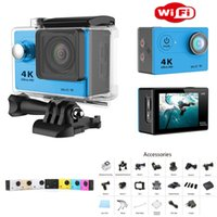 Wholesale H9 Ultra HD K Video degrees Wide Angle Sports Camera inch Screen p fps Gopro hero action Camera