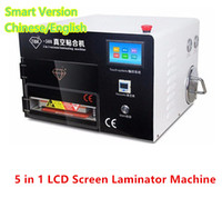 Wholesale TBK Upgraded Intelligent in Touch Screen Panel LCD Vacuum OCA Laminating Machine with Bubble Remover dhl