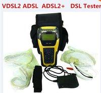 al por mayor probador xdsl-DHL FREE VDSL2 Probador ST332B ADSL WAN LAN probador xDSL equipo de prueba de línea con 2 años de garantía