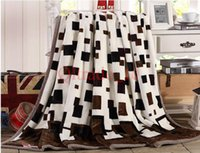 bed sheet and blankets - 500PCS LJJH1010 Method of coral fleece blankets wool flannel blanket Flag blankets to keep warm bed sheets and towels blanket that gift