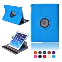Wholesale 2016 New Arrival Flip Cover Case For iPad iPad Air Rotating Smart Stand Leather