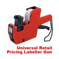Wholesale New Price Label Tag Marker Pricing Gun Labeller J price label gun CA1T new hot