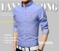 oxford shirts - 2015 hot selling camisas brand shirt new autumn fashion design mens casual shirts high quality men oxford stylish dress shirts