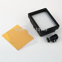 jvc video camera - New WanSen W160 LED Video Camera Light Lamp DV For CANON for NIKON for JVC V W Drop Shipping Free DHL Fedex